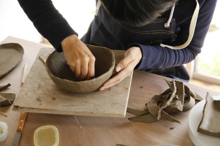 陶芸の体験教室も開催しています。HPから予約が必要です。