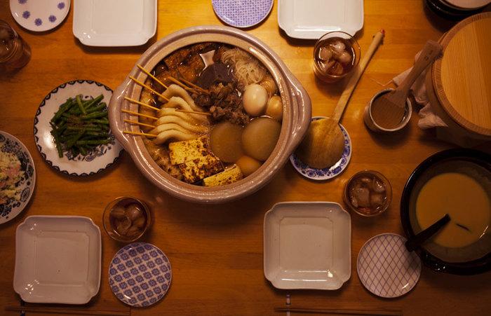 そして、おでんを作る鍋は、土鍋が◎。土鍋は冷めにくいので、鍋ごと食卓に出して食べる場合は特におすすめです。