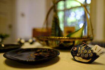 端午の節句の真鯉土鈴・・・小さくとも凛々しき真鯉土鈴です。