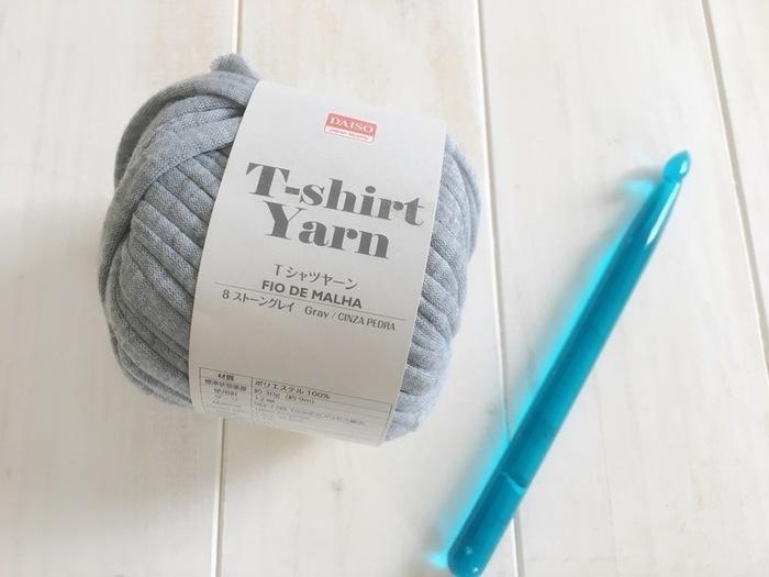 太い糸を使うと大きいサイズも比較的楽に編めます。