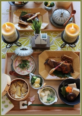 季節ごとの行事食などにも、まごわやさしいの合言葉を取り入れることができますね。旬の味を取り入れながら、素敵なお膳を作ってみましょう。