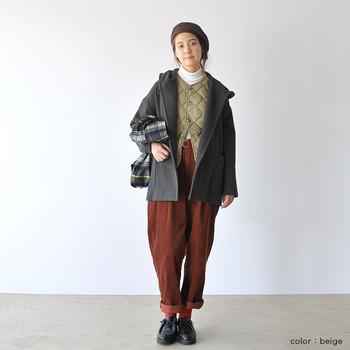 インナーダウンとは、コートやジャケットの下に着るダウンのこと。この季節、街でお洒落な人を見かけると、みんな上手に重ね着を楽しんでいますよね。