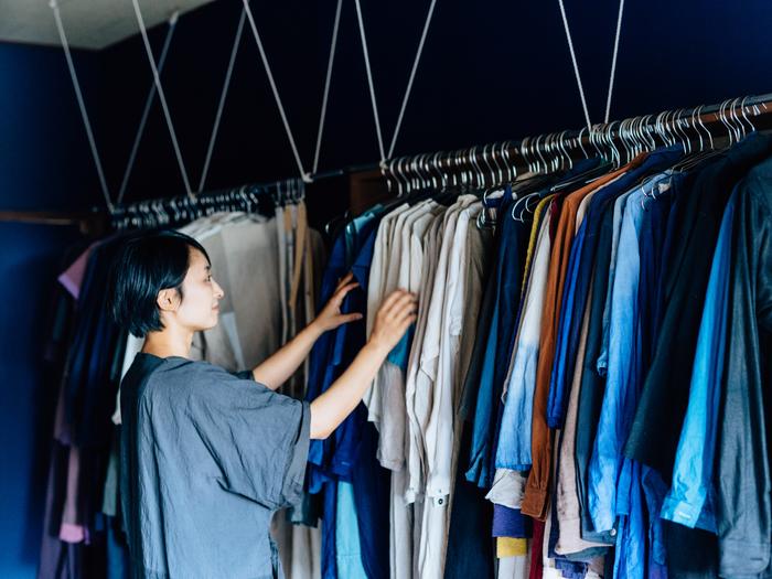 vol.77 RIPPLE・岩野さん一家- 100の色に密やかな想いを込めて。家族で営む小さな洋品店
