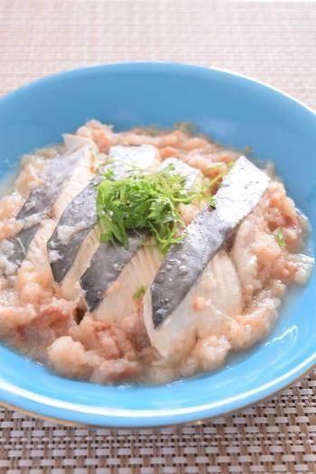 さわらは味や香りにクセがないので、魚が苦手という人におすすめ。はちみつ梅でさらに円やかに。
