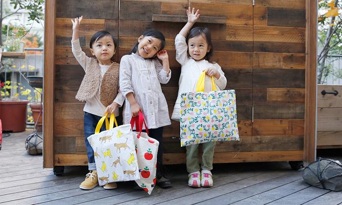 期待も不安もいっぱいに詰め込む通園・通学バッグ。ちょっとくらい線が歪んでいたっていいんです!頑張って、の思いを込めて、お子さんに世界に1つだけの愛情たっぷりバッグを作ってあげてくださいね♪