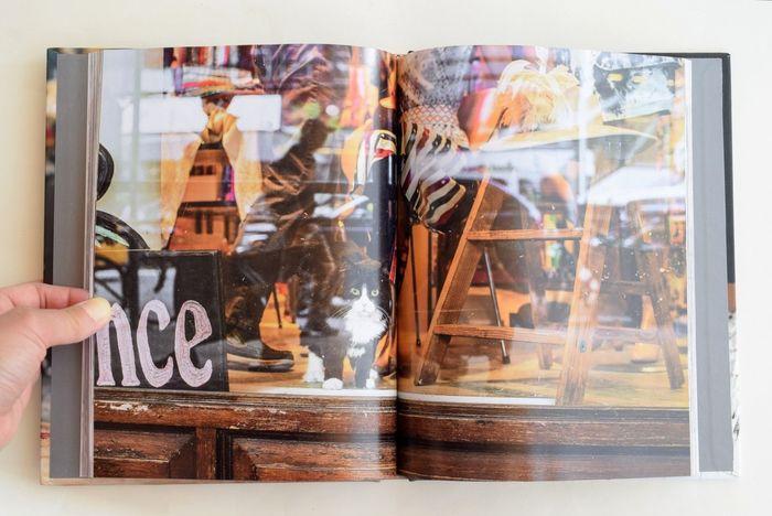 そんなマンハッタンには、書店や酒屋、雑貨店にまで、あらゆるところに看板猫が。オシャレなのにほっこり*そんな言葉がピッタリな写真集。