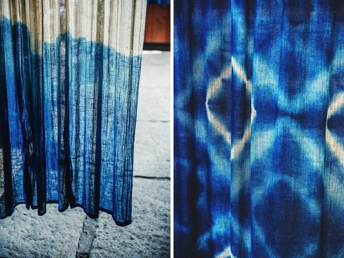 vol.76 高城染工・角南浩彦さん・真由子さん 100年続く染色工場が生み出す、色とりどりのブルー
