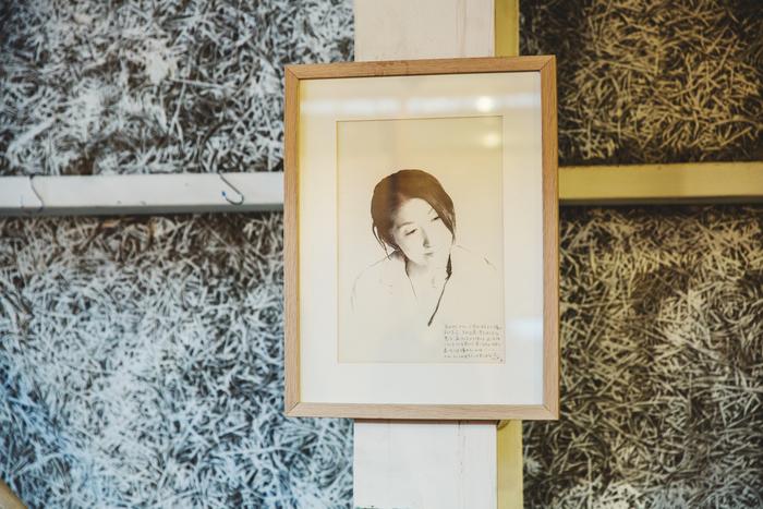 浩彦さんが描いた真由子さんの肖像