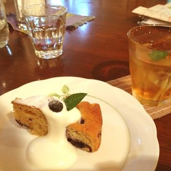 館内を巡った後は、森のおうちにある「喫茶ポラーノ」でゆっくりとティータイムを過ごしてみてはいかが?