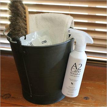 A2Careは水と二酸化塩素から出来ています。これ一本で家中のあらゆるアイテムに使うことが可能です。高い安全性が認められているので、赤ちゃんやお年寄りがいる家庭でも安心して使うことができます。