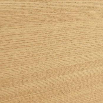 使用されている素材は木の中でも明るい色味を持つアッシュ無垢材(タモ)。背の高い家具でも圧迫感が出にくい色目で、強度の高いしっかりとした木です。