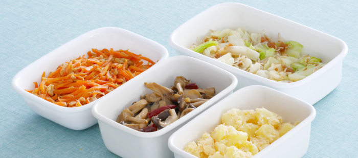 夕飯を作るついでに作り置きしておけば、明日からのお弁当や食事も楽々ヘルシー。根菜類やきのこをたっぷり使って、じっくりお料理してみませんか?