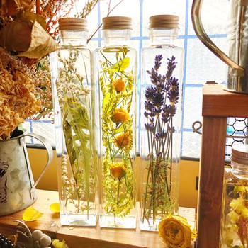 みなさん、ハーバリウムをご存知ですか? ドライフラワーやプリザーブドフラワーを 専用のオイルを入れたボトルに入れて 美しさをそのままにキープさせる植物標本のことです。  こちらも、植物が好きだけれども、 なかなかお手入れが難しいという方向けです。