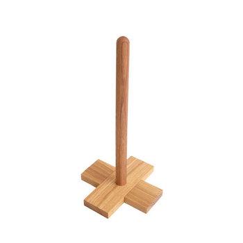 こちらは木製のペーパーホルダー。 ナチュラルで綺麗な木目がスタイリッシュな印象です。  木製のキッチン用品を揃え始めたい方の最初の一品におすすめ。