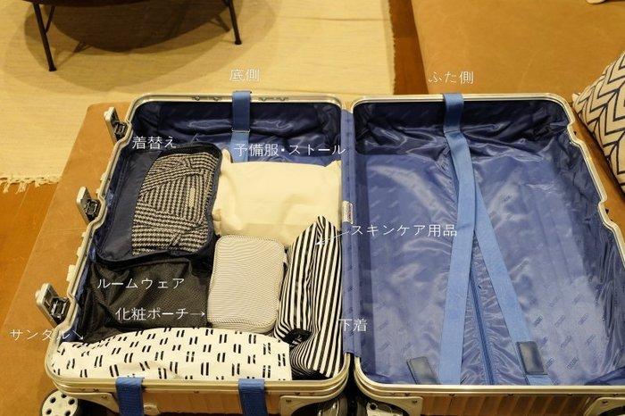 海外旅行はお買い物も楽しみのひとつですよね。最初からスーツケースは半分しか詰めない!とマイルールを決めておけば旅先でのお買い物も荷物の空き容量を心配せずに楽しめます。