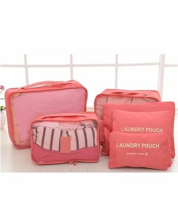 パッキングしやすく、また出し入れが簡単な「洋服、下着、スキンケア・・等」をまずは分けてからまとめはじめましょう。バッグの中の大きな面積を占めるものからバッグにつめ込めば、旅支度も帰り支度もささっとスマートにこなすことができます。