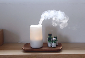 こちらは、使いやすい少し小さめのサイズです。好きな香りを選んでリラックス。