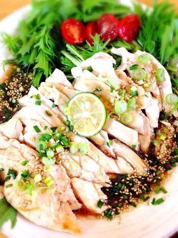 ピリ辛でヘルシー!四川料理「よだれ鶏」レシピにおうちでチャレンジ♪