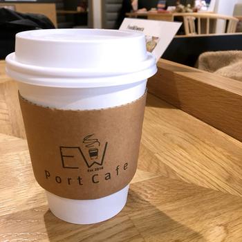 お店で飲めるコーヒーはスペシャルティコーヒーの専門店・堀口珈琲の豆を使ったもの。美味しいコーヒー片手に、ゆっくり自分の時間を過ごしてみてはいかがでしょう。