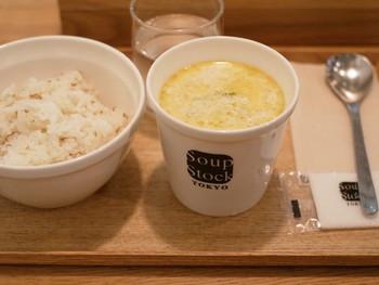 あたたかなスープは、気持ちをそっとほぐしてくれますね。ちょっとお腹がすいている時は、ごはんやパンをプラスして。