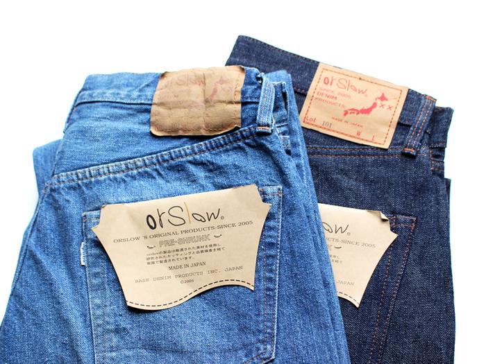 「orSlow(オアスロウ)」は、代表の仲津一郎氏がヴィンテージデニムのもつ独特の質感に魅了されたのをきっかけに立ち上げたブランドです。ジーンズの企画・パターン制作をすべて自社アトリエで行い、サンプルの縫製はデニムの量産工場と同じ工業用ミシンを揃えて作るというこだわりから生まれるデニムは、人の手によって作られたぬくもりが感じられます。