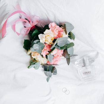 結婚式まで忙しい花嫁さんのために、体を気遣うメッセージも素敵です。