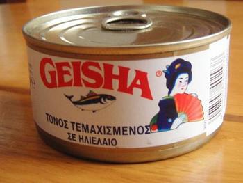 缶詰は開けるだけで簡単に食べられるから、防災用はもちろん、忙しい時のごはん作りにも活躍してくれるんです。海外ではこちら「GEISHA」とう日本ブランド日本産のツナ缶が大人気なんだとか♪
