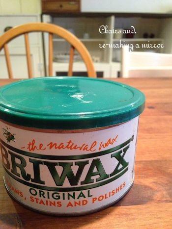 イギリス生まれのBRIWAXを塗れば、すべての板がアンティーク風に。ベニヤ板に魔法をかけてくれます。