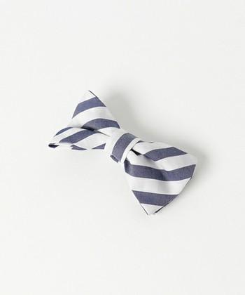 手作りの蝶ネクタイは遊び心もふんだんに盛り込めて、楽しい気分で身に着けられます。カッコよく決めたい時にも、可愛くみせたい時にも使えるアイテム。おしゃれの選択肢の中に取り入れてみませんか?
