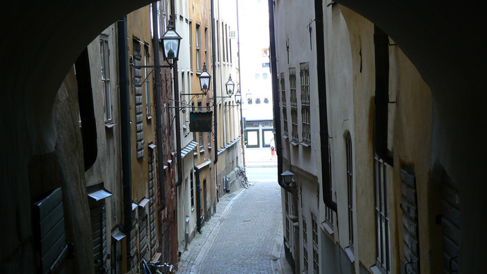 まるで中世にタイムスリップしたかのような、風情のある町並みです。