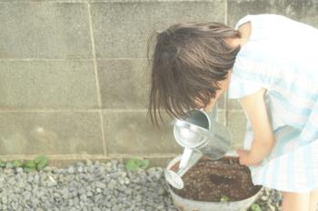 まずは食卓を拭くことや箸を置くこと、また、植物の水やりなど、子どもでもできる小さなことからお手伝いをさせてみてはいかがでしょう。大人が素敵なお手本を見せてあげれば、きっと自信を持って担当したくなる、立派なお仕事にしてあげられるはず。植物の管理を任せれば、次第に、元気が育っているかどうか、考える力や責任感も芽生えるでしょう。ぜひ、大人にとっては小さなことでも喜びを感じさせてあげて。
