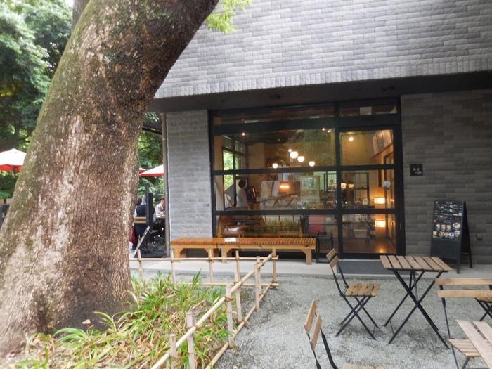 「來宮神社」は、境内にお休み処や、茶寮が併設されているのも魅力の一つです。【茶寮「報鼓」】