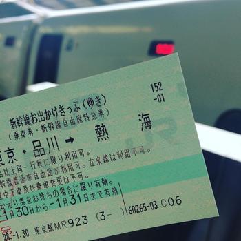 東京-熱海間を大人2名以上で往復するのなら、この切符がお得。 GWやお盆の頃、年末年始、また在来線は使えませんが、2日間有効なので、一泊旅行にも使えます。詳細は以下のサイトで確認しましょう。