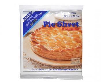 スーパーでも気軽に購入できるパイシート。冷凍のものなら保存もきいて、使いたいときにさっと使えて便利です。