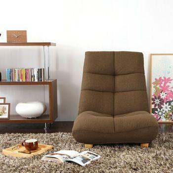 脚がないかあっても短く、座椅子のように床に近い位置で過ごすためのソファーです。高さが抑えられるのでお部屋に圧迫感を与えず、床座とローテーブルの組み合わせで過ごすのがお好きな方に向いています。