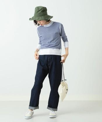 1950年代にデニムに慣れていない女性向けにリリースされたデニムパンツからインスピレーションを得て誕生したスペシャルモデルは、細部までこだわったデニム生地を使用しています。