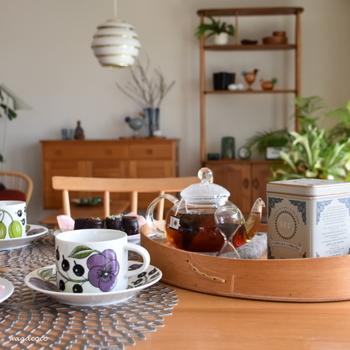 スパイシーなフレーバーティーは特に人気の高いブレンド。心のこもったチョコレートのお返しは、この紅茶に決まり!?