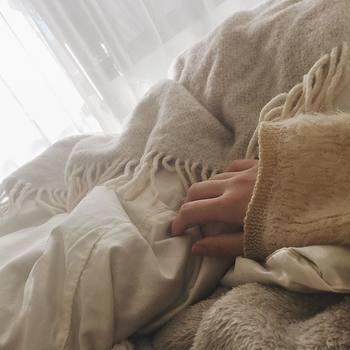 また、肌触りの良い素材を使用しているので、心地よく眠りにつくことができるんです。