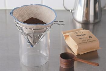 静岡市で美味しいコーヒーとコーヒーグッズを製作・販売している「IFNi Roasting & CO. (イフニ ロースティング アンド コー)と、山梨を拠点にしたコーヒー器具ブランド「ILCANA(イルカナ)」がコラボして誕生したドリッパーです。