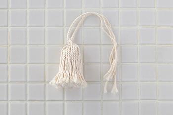 また、綿糸の束をステンレスの持ち手から取り外して洗うことも可能な上に、別売りの「油引き 替え糸」に交換することもできるので、いつでも清潔に使えることもポイントです。