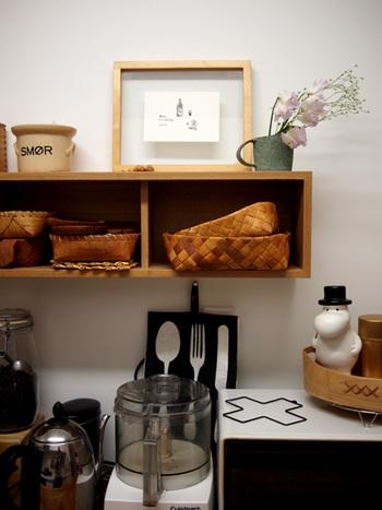 浅いものであれば、収納だけでなく、おやつやパンのカトラリーとしても使えます。