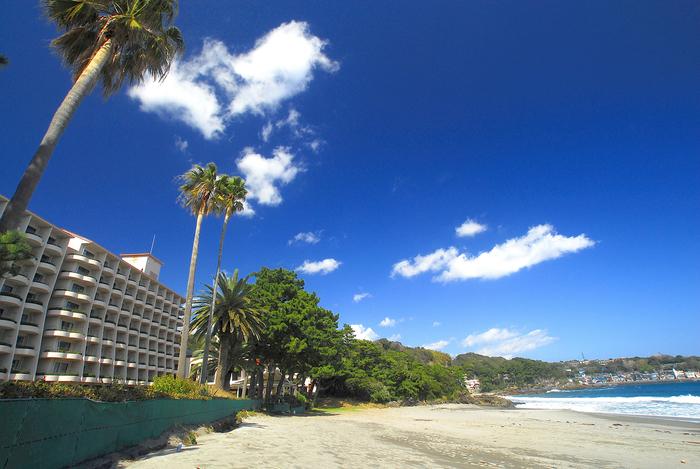 桜を楽しんだあとは、海を眺めながらゆったりリラックスしたい方におすすめしたい「伊豆今井浜東急ホテル」。まるでハワイ!?と思わせるような南国ムード漂うホテルで、異国へトリップした気分になってみてはいかがですか?