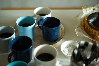 カラーバリエーションが豊富なのも嬉しい。ブルーひとつとっても様々な色合いから選ぶことができます。