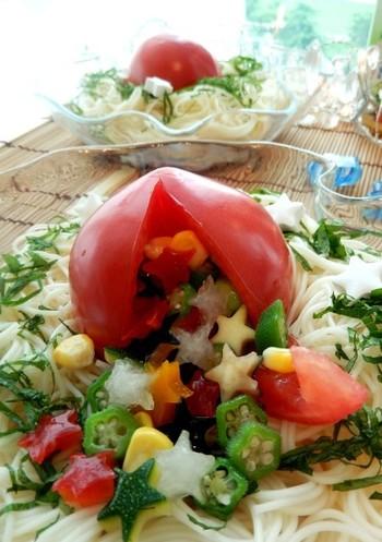 切る手間が省けておしゃれ!「まるごとレシピ」で作る楽チン&豪華な食卓