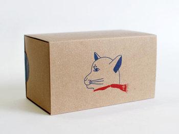 パッケージには、「プシプシーナ珈琲」の店主、登尾紘子さんが描いたというネコのイラストが。なんとも愛らしい表情です。