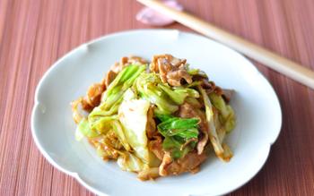 定番の回鍋肉も、春キャベツで作るとこんなにもおいしい! お肉よりさきにキャベツがなくなっちゃうかも。