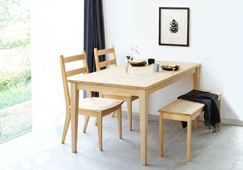 大きすぎる、小さすぎる・・・そんなお悩みから解放してくれるのがサイズオーダーできるダイニングテーブル。暮らしに合ったぴったりの家具で、心地よい毎日を送れたら素敵ですね。