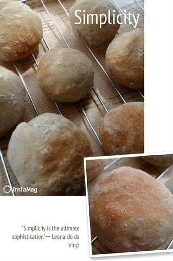 「ポリパンⓇ」は材料を全てポリ袋に入れて、シャカシャカ振って混ぜ合わせるだけ。キッチンも汚れず、後片付けも楽ちんです。そんな今までのパン作りのイメージを覆す「ポリパンⓇ」は、フライパンでも美味しいパンが簡単に焼けます。まずはその基本の作り方から見ていきましょう♪