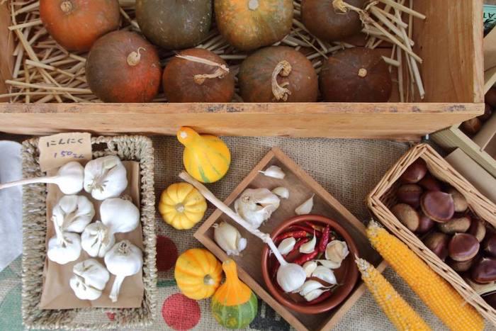 エコバッグやマイ箸なんかを持参して、旬のものを思いっきり吟味しましょう。 おすすめの食べ方を聞いてみて、あなたのレシピに仲間入りさせてみては!?