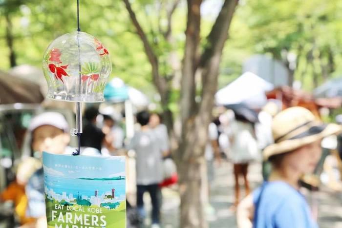 夏には涼しくなれるような工夫が随所に見られました。 昔ながらの風鈴という文化そのものが、今の子供たちにとって珍しかったようです。
